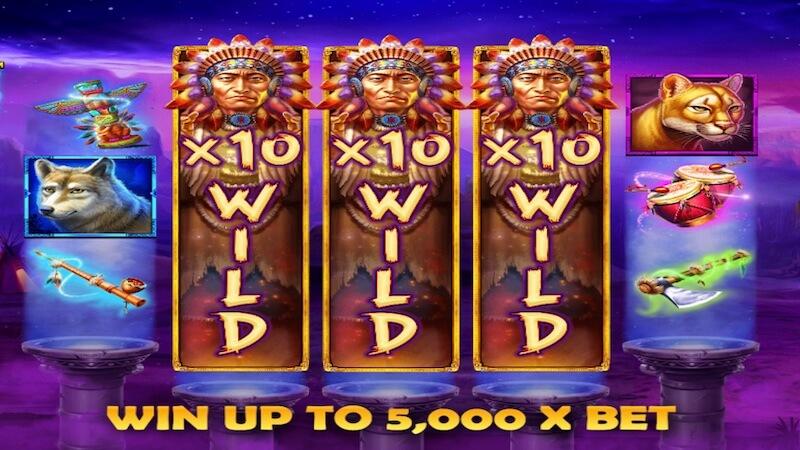mystic cheif slot rules