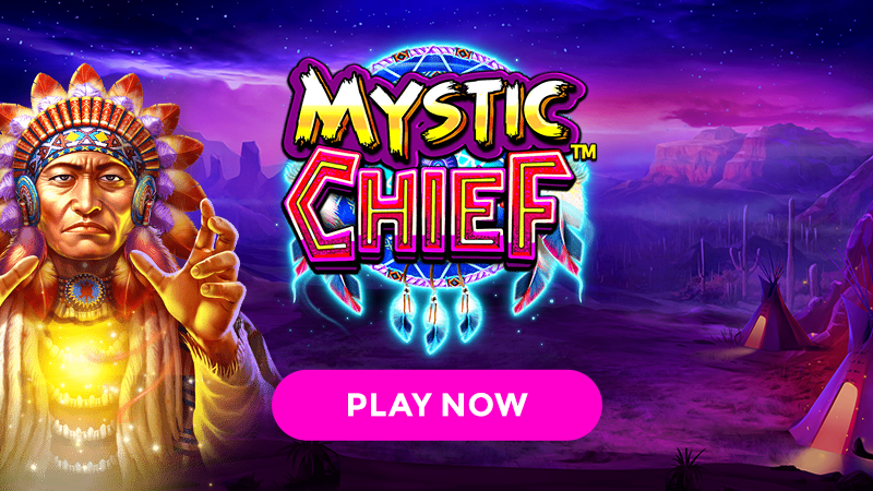 mystic cheif slot signup