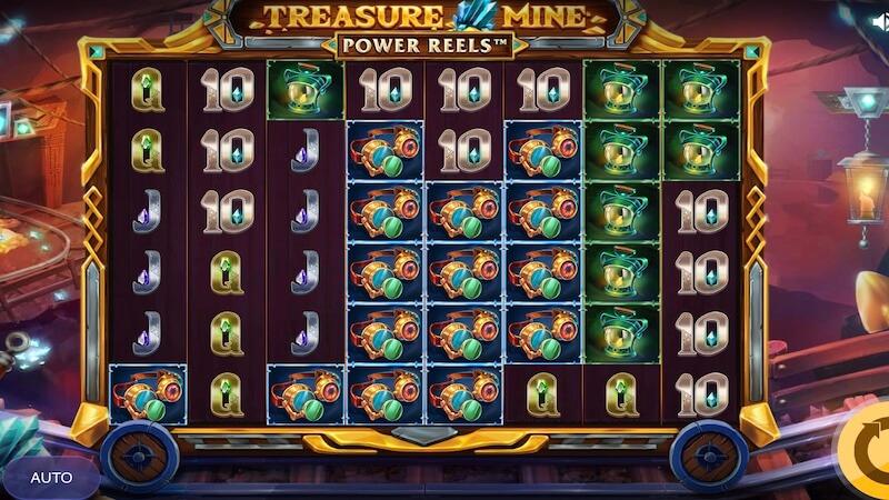 treasure mine slot gameplay