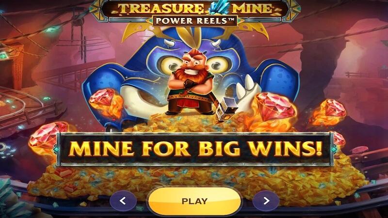 treasure mine slot rule