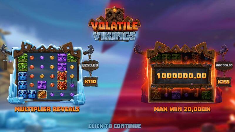 volatile vikings slot rules