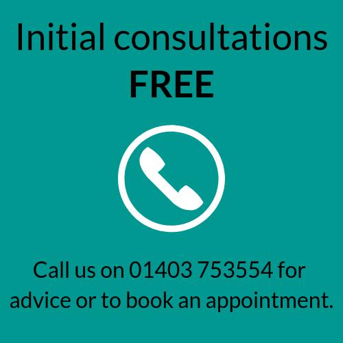 Initial Consultations Free