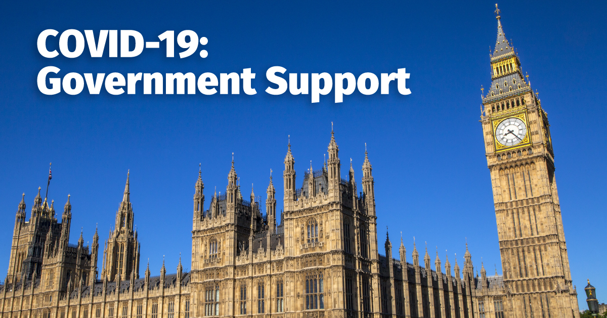 Government Support for Businesses through the COVID-19 pandemic