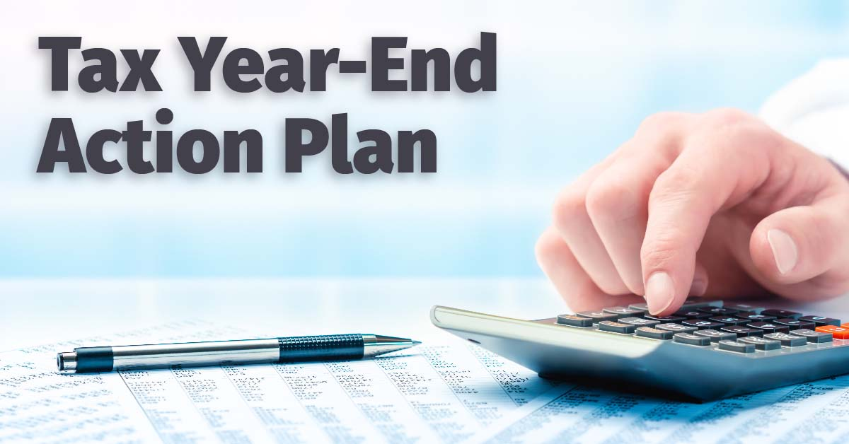 Tax Year End Action Plan - Blog Header