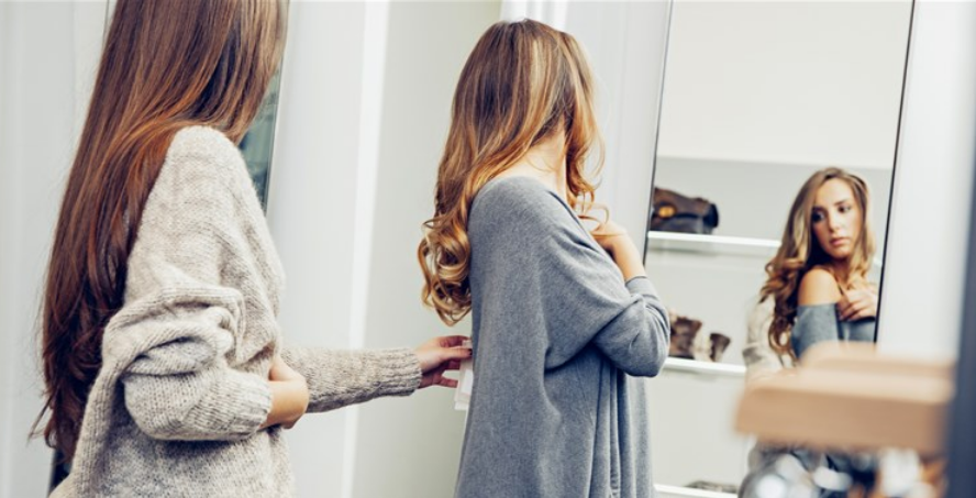 The trials and tribulations of the ladies' fitting rooms