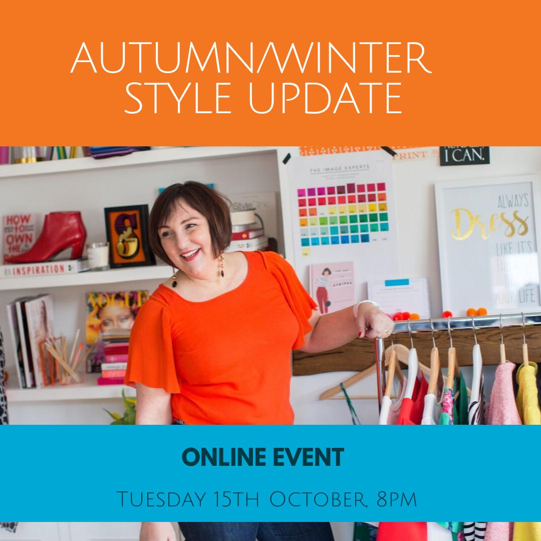 Sarah Gray - Autumn Winter - Style Update Event
