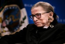 "Ginsburg said she didn't want to be replaced on Supreme Court ""until a new president is installed"""