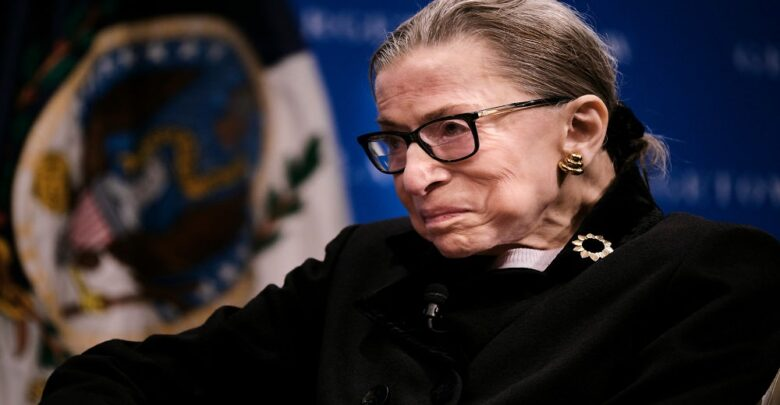 """Ginsburg said she didn't want to be replaced on Supreme Court """"until a new president is installed"""""""