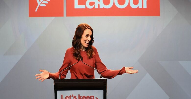 #Jacinda Ardern#Labour Party #New Zealand election