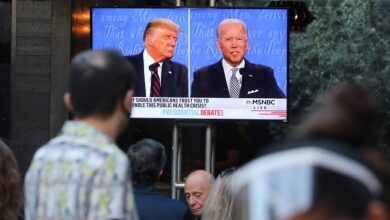 Biden Trump Michigan Nevada