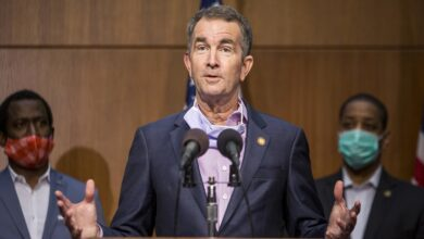 Virginia governor-Trump's words ' -white supremacists