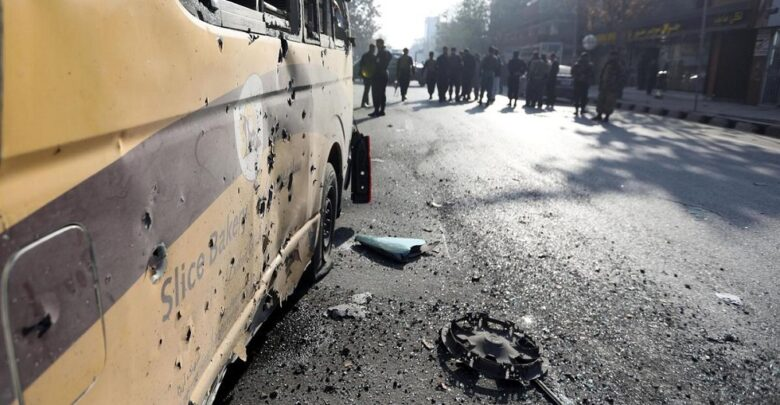 At least 3 people died when rockets hit Kabul