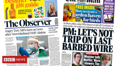 Angry Tory MPs turn on Gove after 'overwhelmed NHS' claims