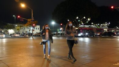California begins a night-time curfew