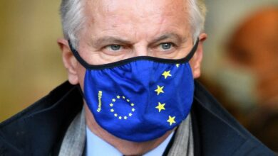 Michel Barnier arrives in UK for face-to-face Brexit trade talks