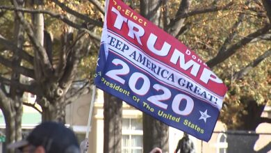 Thousands of Trump supporters protest in Washington DC