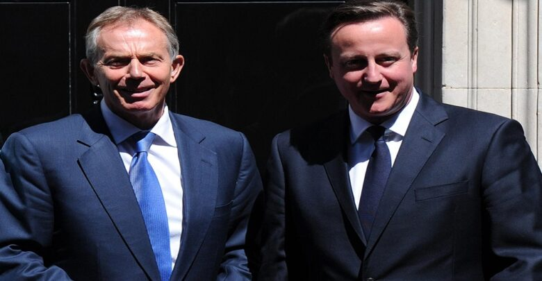 Cameron and Blair warn Johnson about budget cut