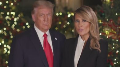 Trump and First Lady call coronavirus vaccine a Christmas miracle in their message