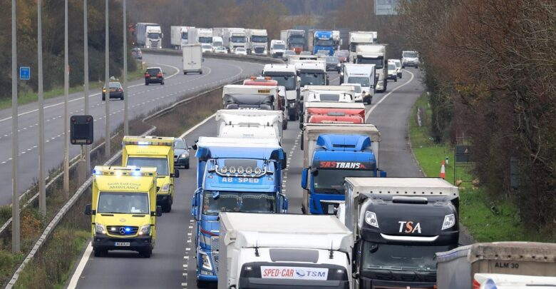 Risk of serious disruption at Channel crossings in post Brexit transition period