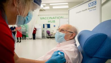 Covid vaccinations for GP surgeries patients in UK
