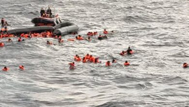 #43 people #drown after #migrant_boat #capsizes in the #Mediterranean