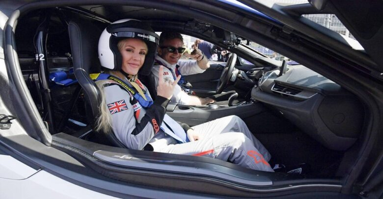 #Formula E is '#literally_the_future,' says #pop_star and environment campaigner #Ellie_Goulding
