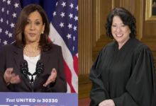 #Harris to be #sworn in as #vice_president by #Justice_Sonia_Sotomayor