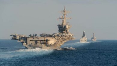 #Trump #orders #Pentagon to #reverse decision to remove #US #aircraft_carrier from Middle East