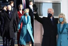 #Biden arrives at the #White_House