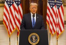 Trump's farewell address: we did what we came to do, and so much more