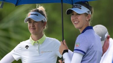 #Jessica_Korda wins #dramatic #playoff as #sister_Nelly finishes third