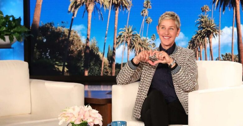 #Ellen_DeGeneres #returns to #talk_show after #recovering from #Covid-19