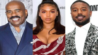 _#Steve_Harvey has his #eye on #daughter's_boyfriend, #Michael B. Jordan