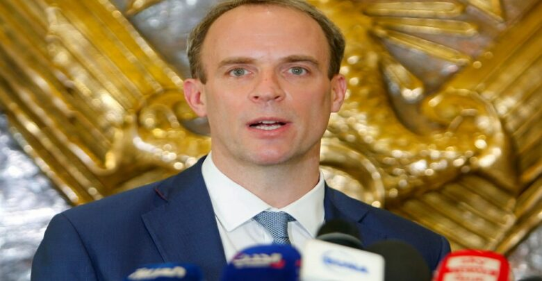 #Dominic_Raab calls for #global_ceasefires to allow for #vaccinations