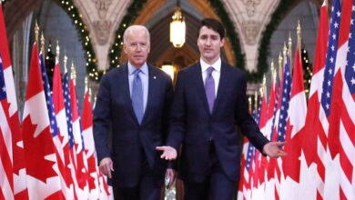 #Biden to speak virtually with #Justin_Trudeau on Tuesday in first meeting with #foreign_leader