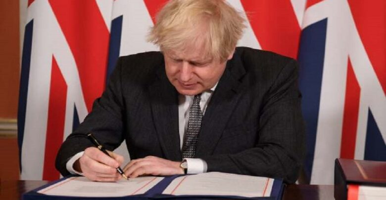 Restart #Brexit_talks because #UK is '#less_safe and #less_secure', Tory group tells #Boris_Johnson