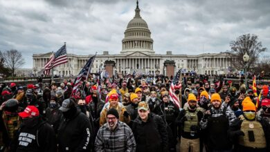 Five things to know about Capitol riots arrests
