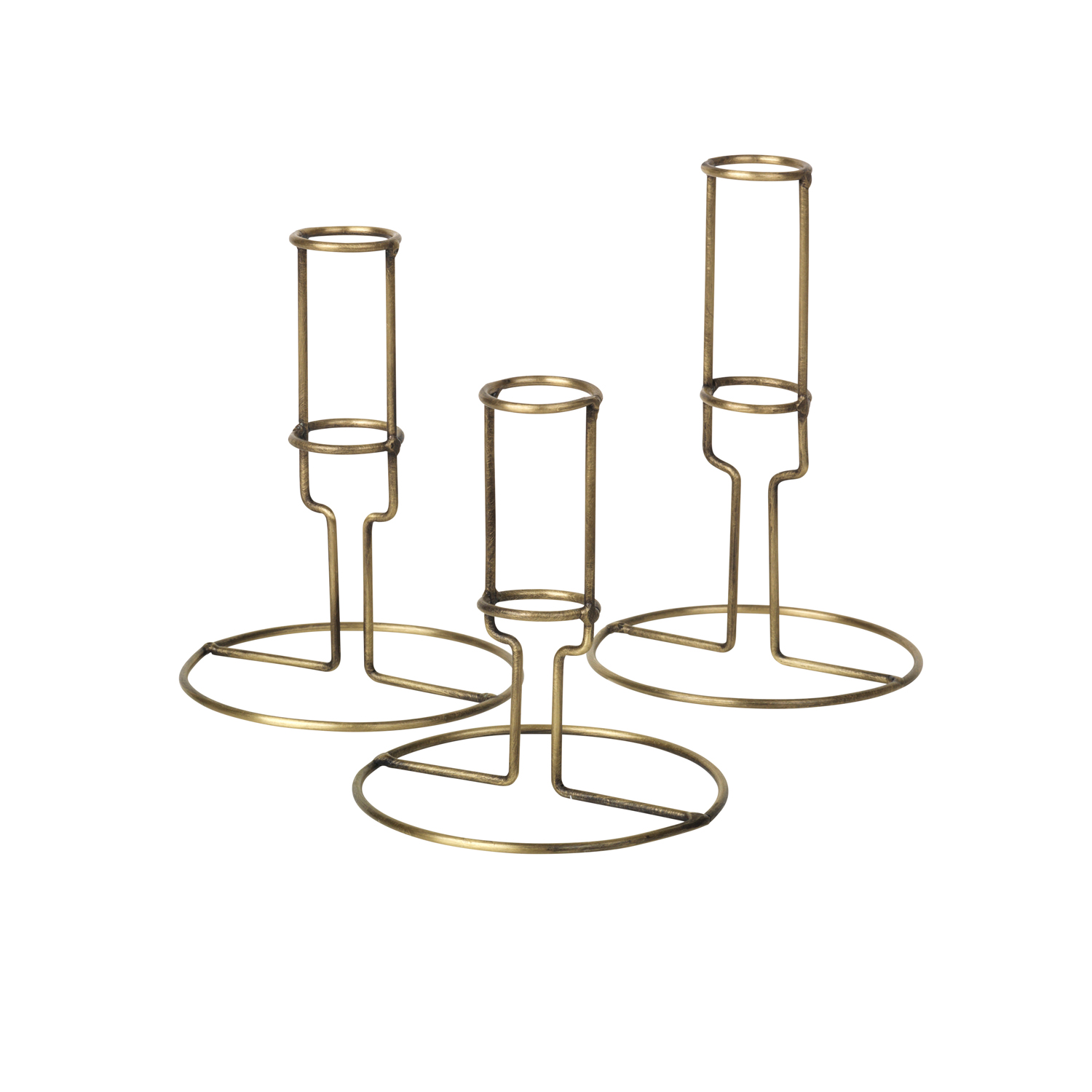 14466029 Filou Metal Candle Stick