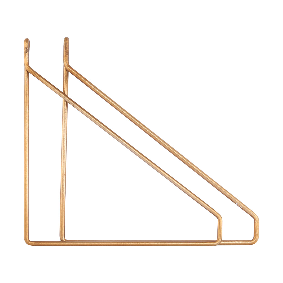 House Doctor cb0852 gold shelving bracket