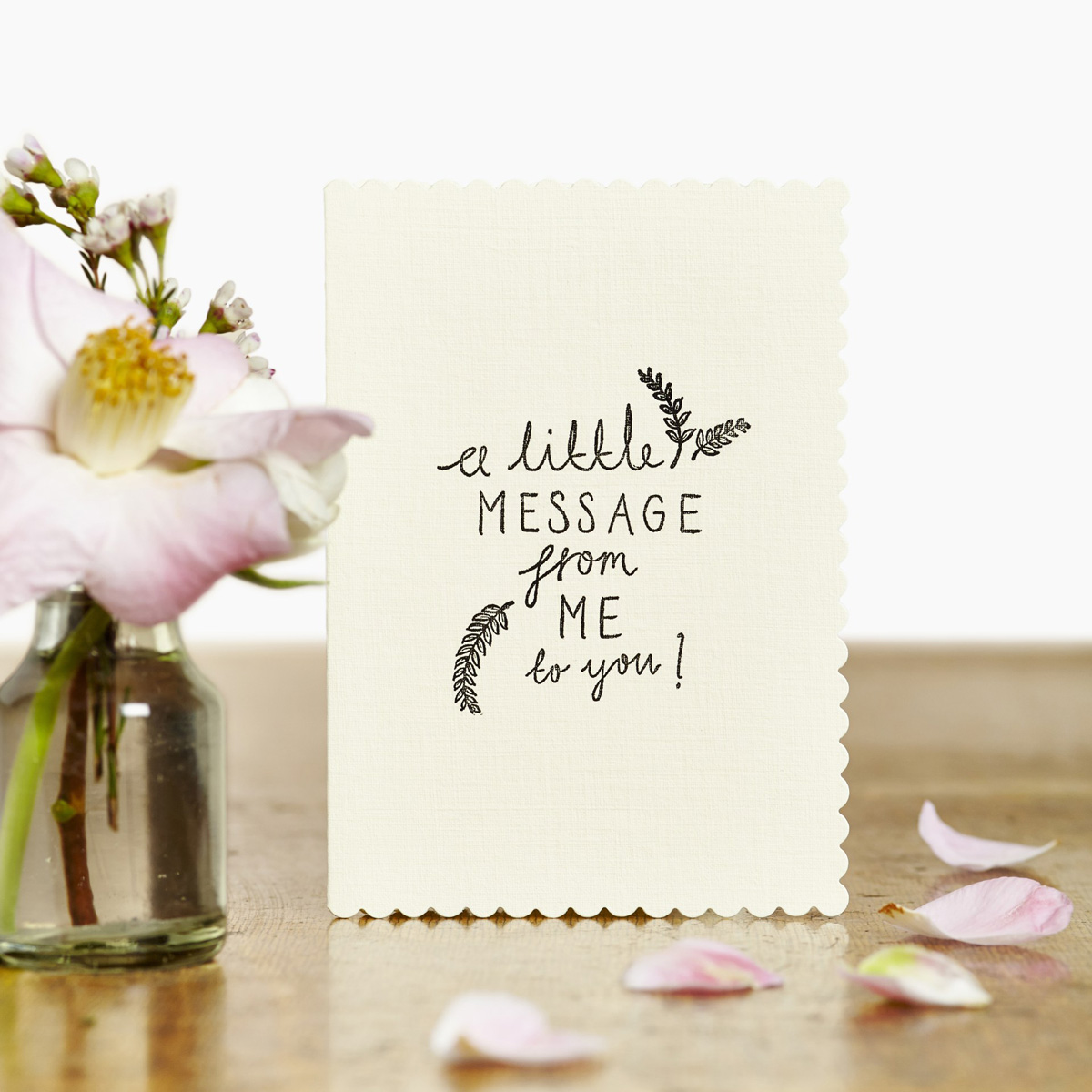Katie Leamon a little message gift card