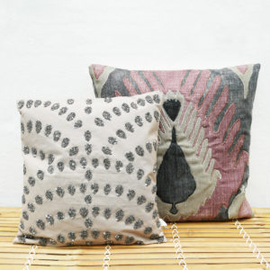 Sequinsia-Cushion-&-Codille-Cushion-by-Lene-Bjerre