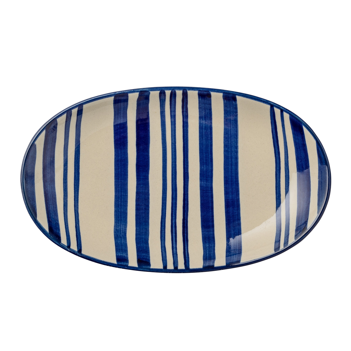 day-home-blue-stripe-oval-serving-plate