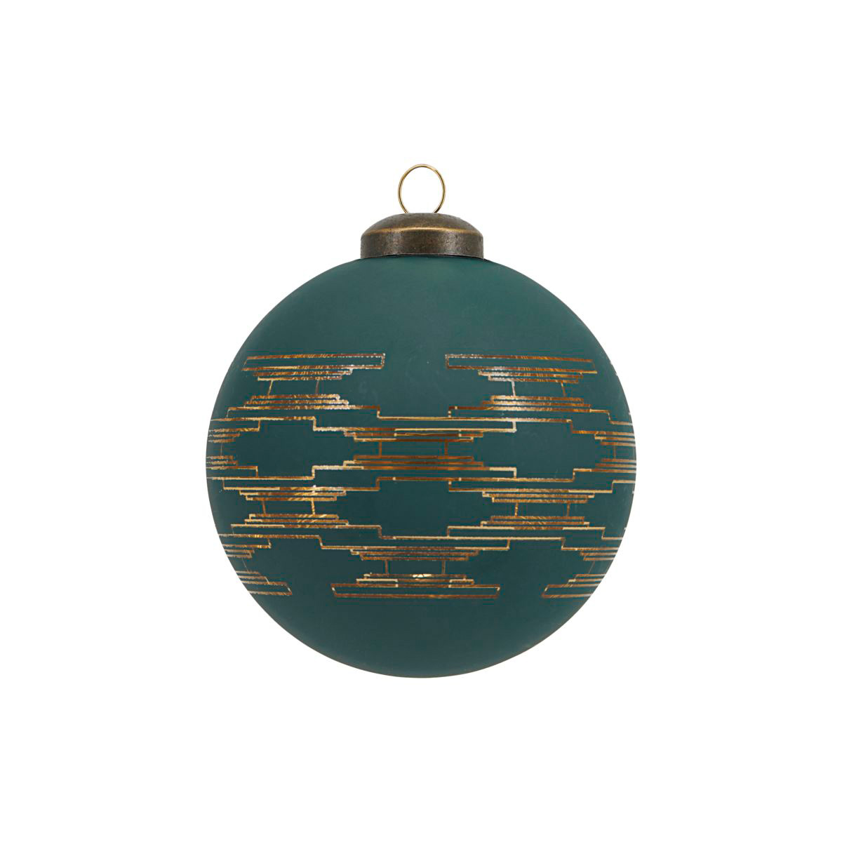 green-art-deco-christmas-bauble