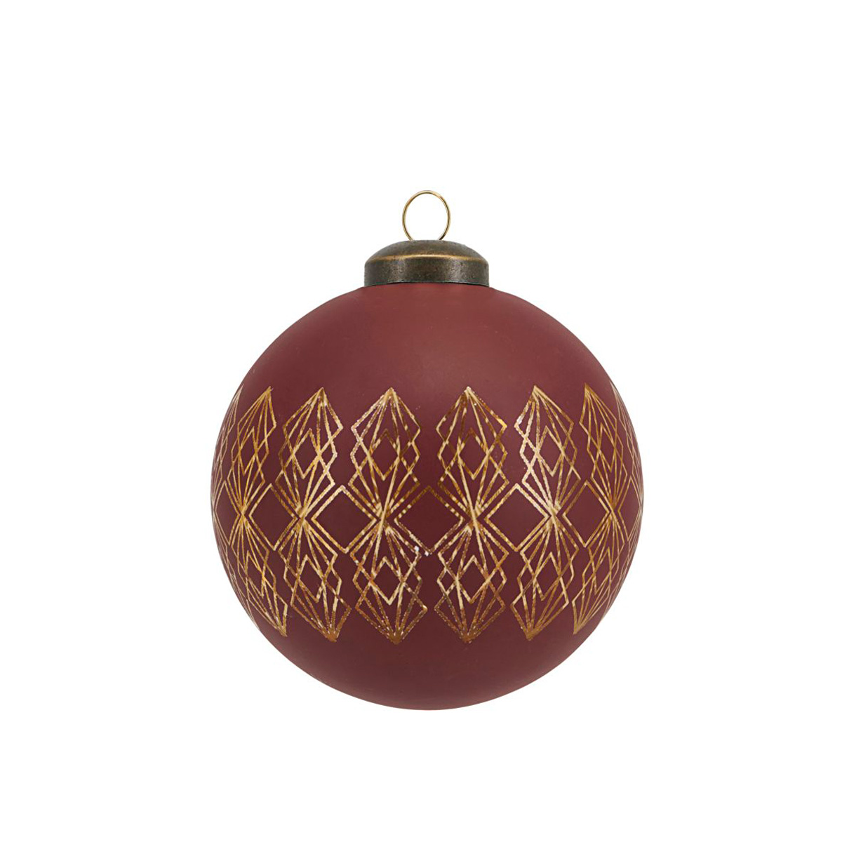 red-art-deco-christmas-bauble