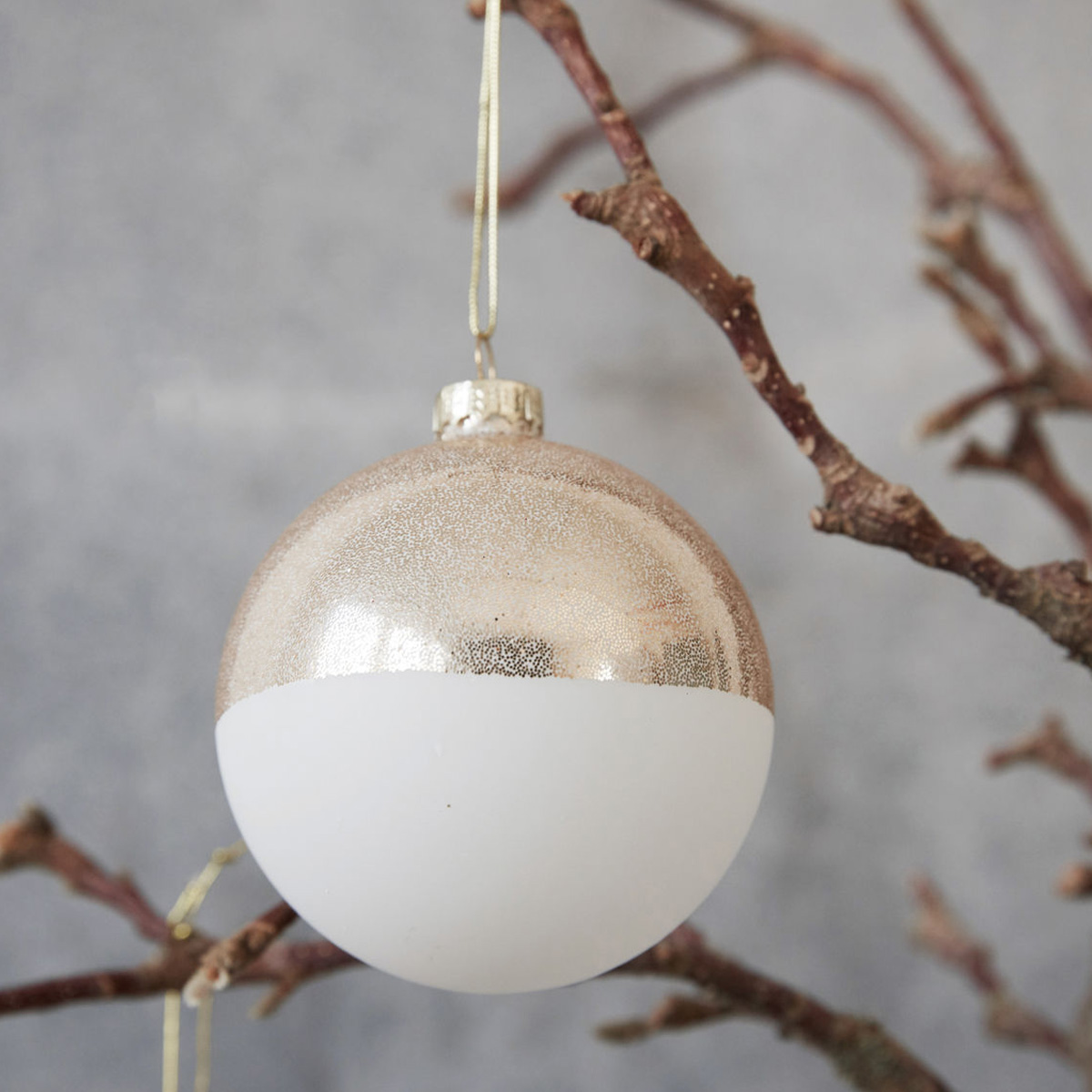 white-gold-christmas-bauble