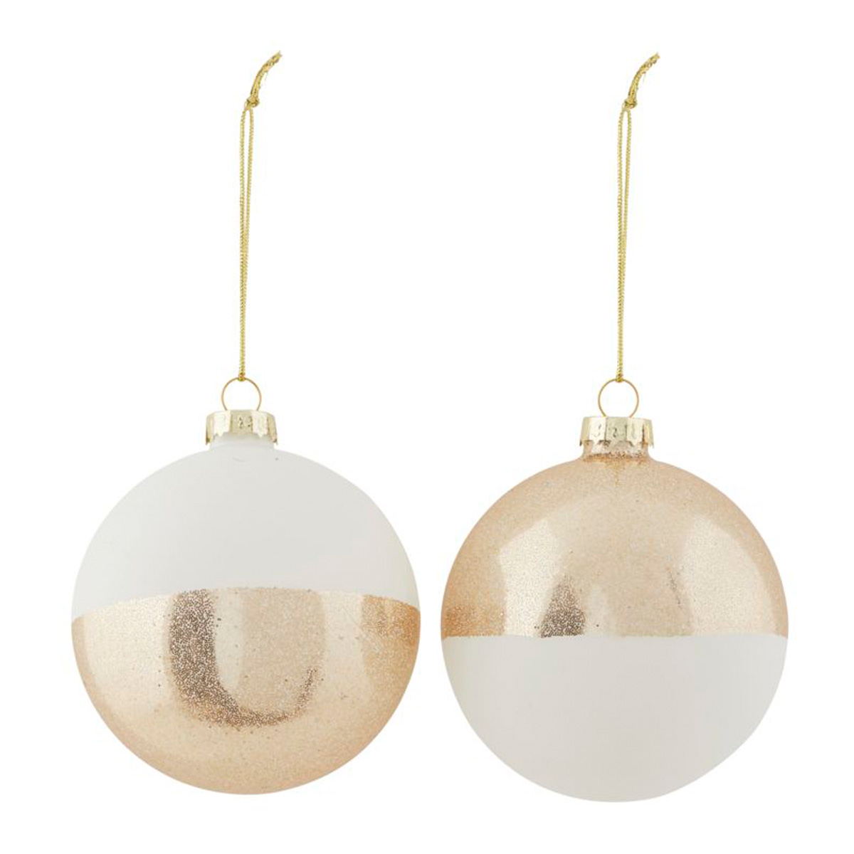white-gold-christmas-decorations