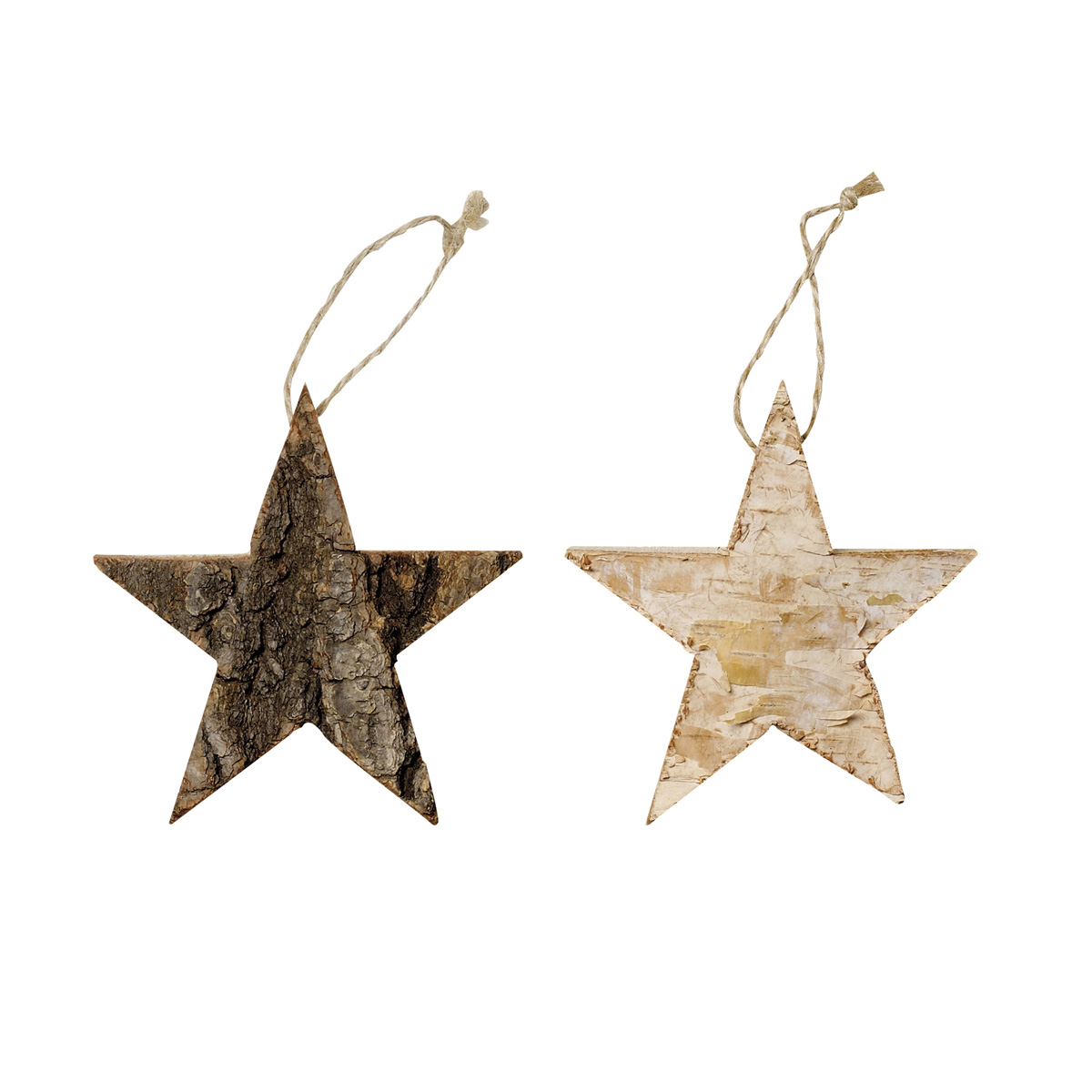 wood-bark-star-christmas-decorations
