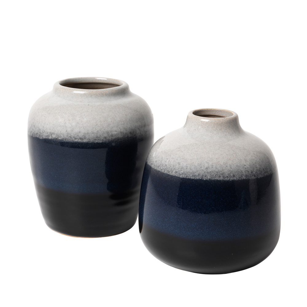 broste-navy-black-small-vases