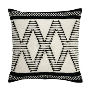 HK Living Black White Aztec cushion