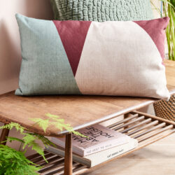HK-LIving-Green-Patchwork-cushion